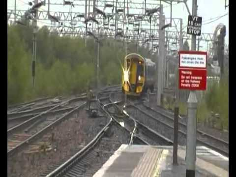Trains At Motherwell (10th August 2011)