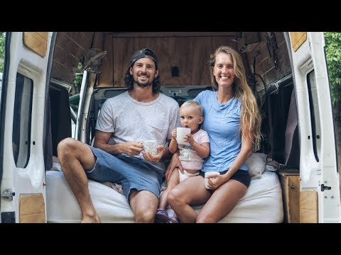 VAN LIFE EVENING ROUTINE | Living In A Van With A Toddler