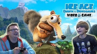 Winter Fun with Ice Age Dawn of the Dinosaurs Activision Video Game