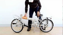 MOBIC Folding Bicycle Folds in 10 Seconds - Click-n-Lock Technology on Life X7 (HD)