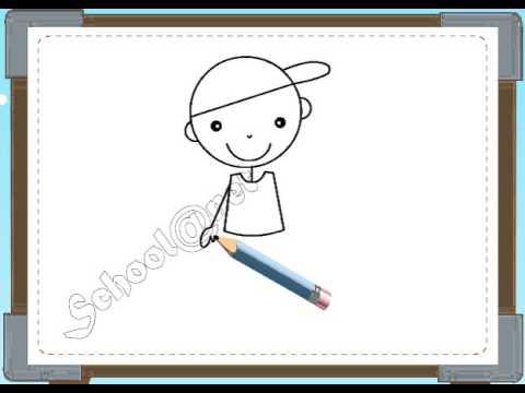 BÉ HỌA SĨ - Thực hành tập vẽ 101: Vẽ bé trai