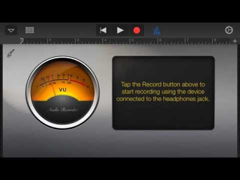 Importing Music into GarageBand for iPhone