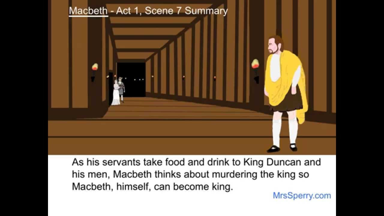 a comparison of the changes in macbeth and lady macbeth as a result of the murder of king duncan