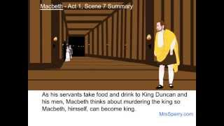 Macbeth - Act 1, Scene 7 Summary