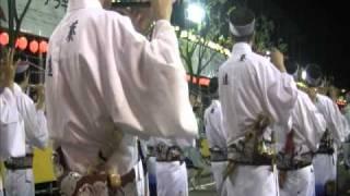 Tokushima Awa dance 2010 Japan 阿波踊り 葵連 入場(徳島市役所前演舞場)