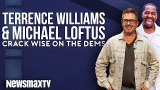 Terrence Williams and Michael Loftus Crack Wise on The Democrats