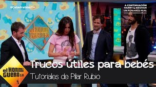 Pilar Rubio enseña en 'El Hormiguero 3.0' gadgets súper útiles para los bebés - El Hormiguero 3.0