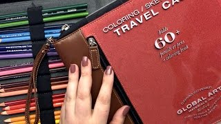 Global Art Coloring/Sketch Travel Case Review
