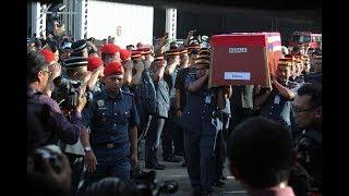 Jenazah Adib diterbangkan ke Kuala Kedah