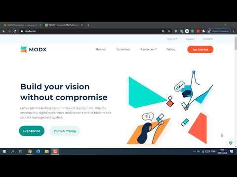 Видеоуроки modx revolution