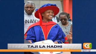 Mwanamke mwenye umri mdogo zaidi kupata shahada ya uzamifu