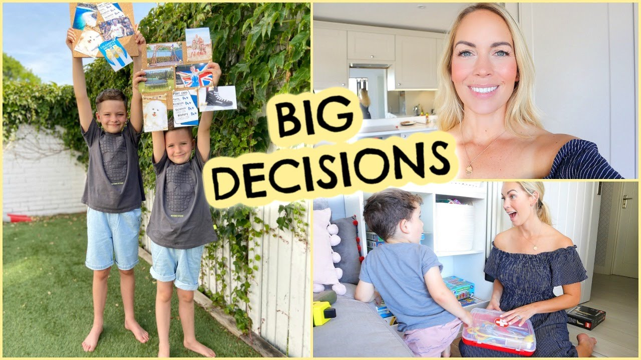 MAKING THEIR DREAMS COME TRUE, DAY IN THE LIFE VLOG & VISION BOARDING   AD    Emily Norris