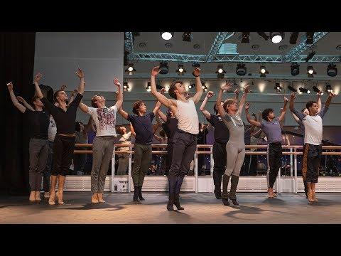 The Royal Ballet rehearse The Unknown Soldier – World Ballet Day 2018