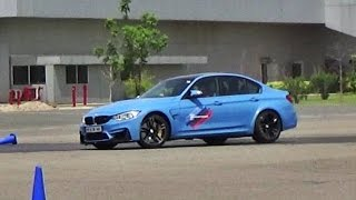 Drift training in the 2017 bmw m3