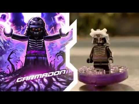 2011 LEGO Ninjago - Spinner: Sensei vs Garmadon