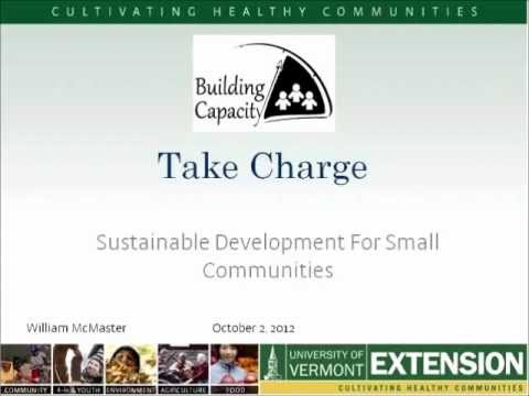 Take Charge: Sustainable Development for Communities of Interest