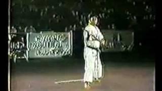Toshihiro Oshiro Yamani Ryu Bo Kata