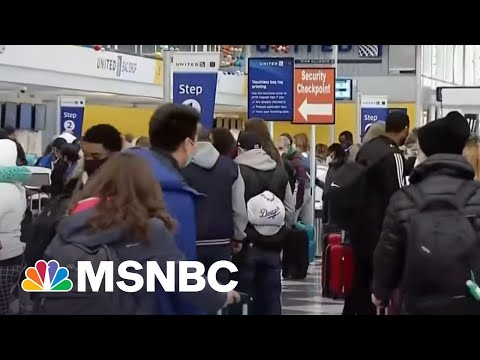 CDC Issues New Travel Guidance For Vaccinated Americans | Craig Melvin | MSNBC