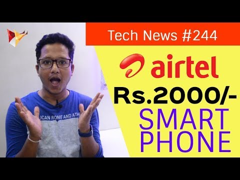 Tech News of The Day #244 - Airtel 2000 Phone,Flipkart & Amazon Sale,Oppo Store,Aircel Lava Phone