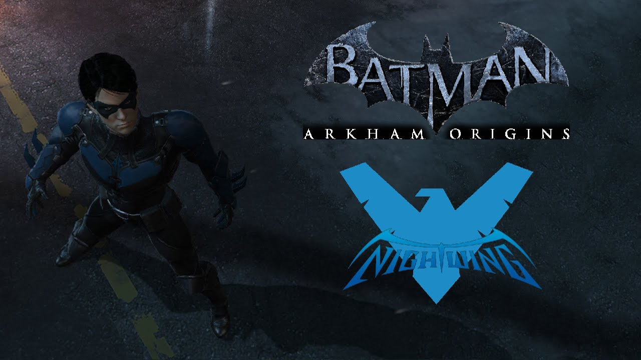 SKIN; Batman; Arkham Origins; Nightwing - YouTube