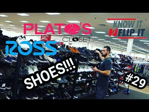 Shoes From ROSS + PLATOS + Goodwill Thrift Along Ep 29 Atlanta - Ebay  Amazon Poshmark Haul 2018 3aef8d708