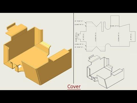 🔖 Autodesk Inventor Basic Tutorial    Sheet Metal