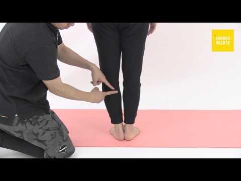 40膝窩筋のコンプレッションストレッチ指導法