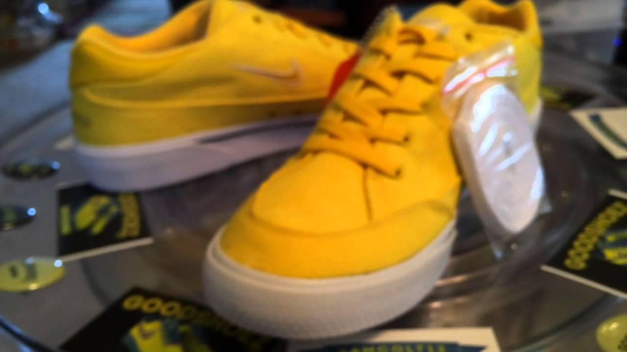 5873d1bf295f Supreme x Nike SB GTS QS - yellow colorway - 8.1.2015 - YouTube