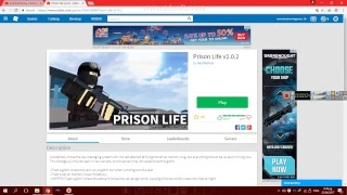 Weh jom main ROBLOX Prison Live V2.0 bersama saya! | ROBLOX live