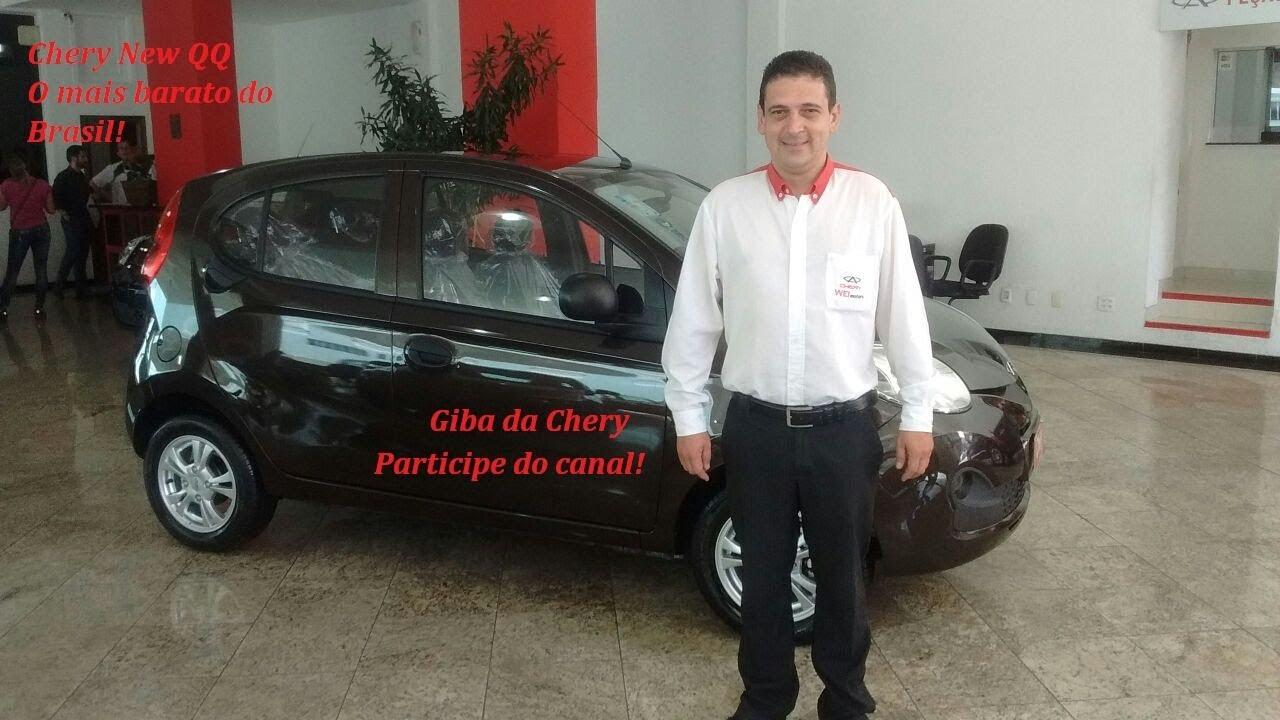 Auto Esporte - New QQ Smile o mais barato do Brasil.