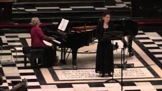 Haydn: Arianna a Naxos, Kun Ágnes Anna -- mezzo, Kincses Margit -- piano