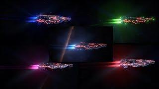 Elite Dangerous: Engine Detailing (Blau, Grün, Pink und Rot)