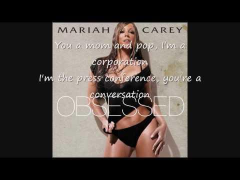 Mariah Carey Obsessed Remix With Lyrics