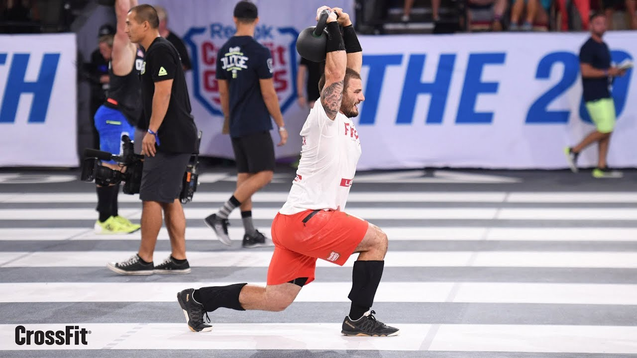 The Crossfit Games Individual Fibonacci Final Youtube