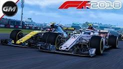 Strafe muss sein ^^ | 2K | Lets Play F1 2018 #21 | S1R10R | Großbritannien