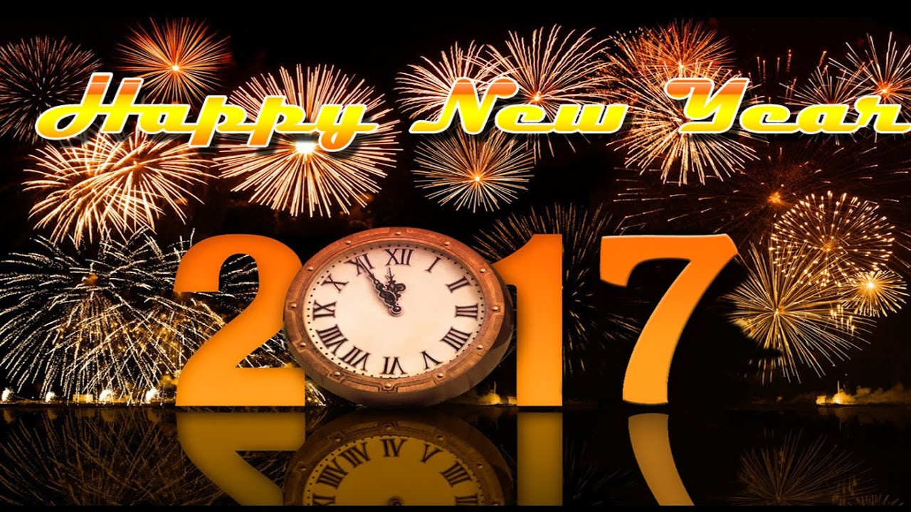 Happy New Year 2017 Wishes Greetings Whatsapp Video E Card Free