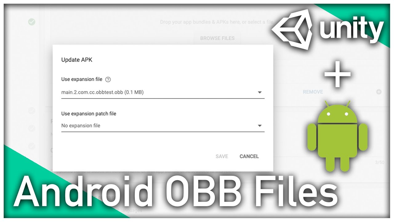 Publish an APK with OBB in Unity | #Unity #Android  #Smartphone #Android
