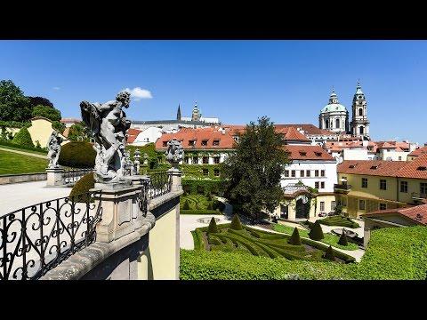 Travel to the secret Gardens of Prague