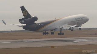 UPS航空 [ アメリカ ] マクドネル・ダグラスMD11F 関西国際空港 ラン...