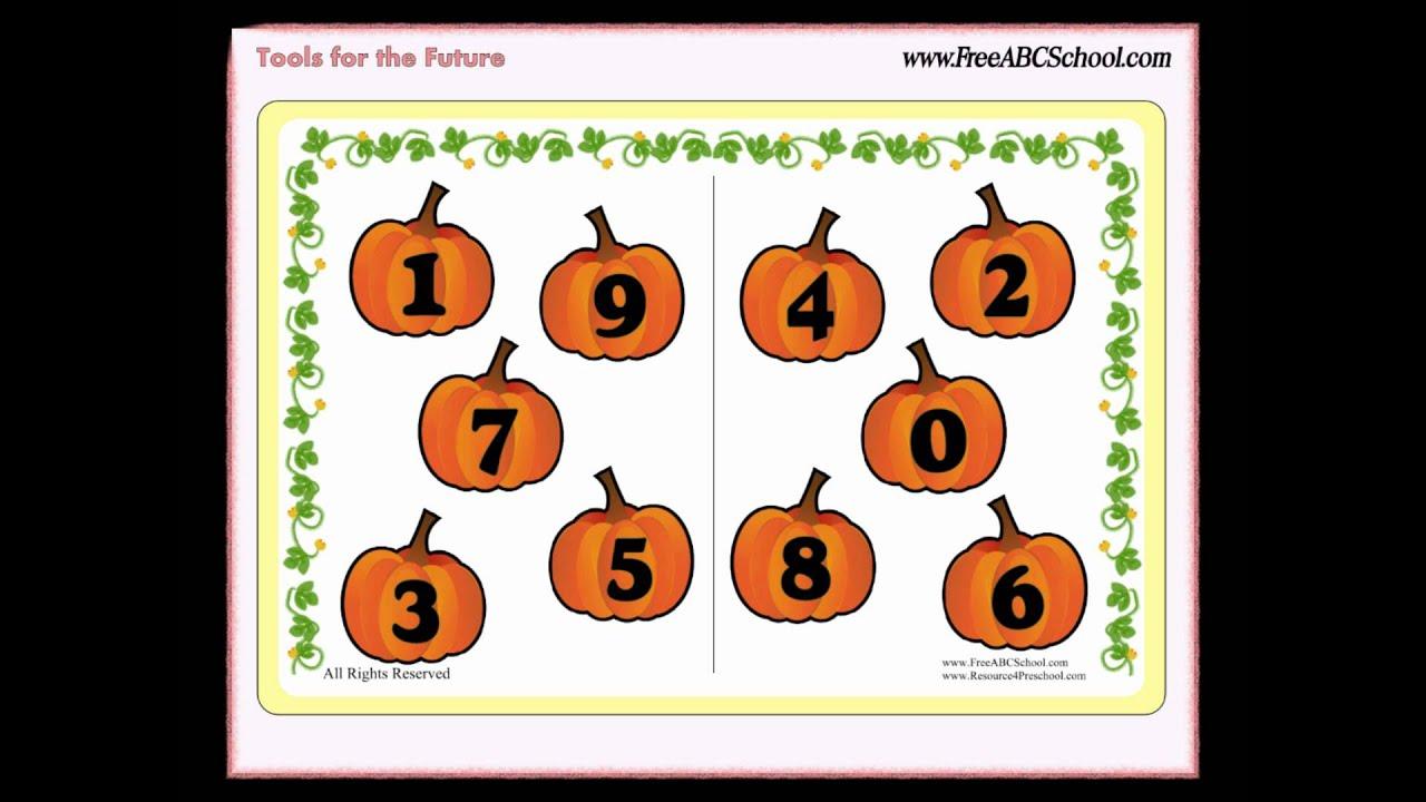 Exploding Pumpkin For Preschool And Kindergarten