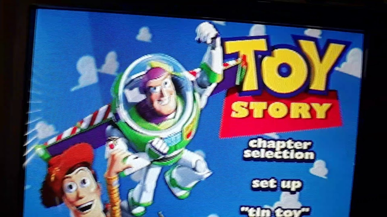 Opening to Toy Story Gold Classic Collection 2000 DVD ...
