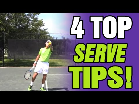 Tennis Serve - How To Serve In Tennis Techniques And Tips For Effective Serving
