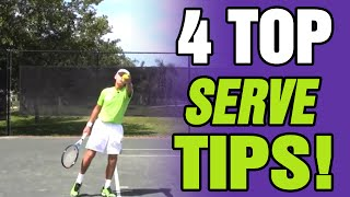 Tennis Serve - Tips For Effective Serving with Coach Avery