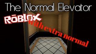 Roblox // ze normal elevator