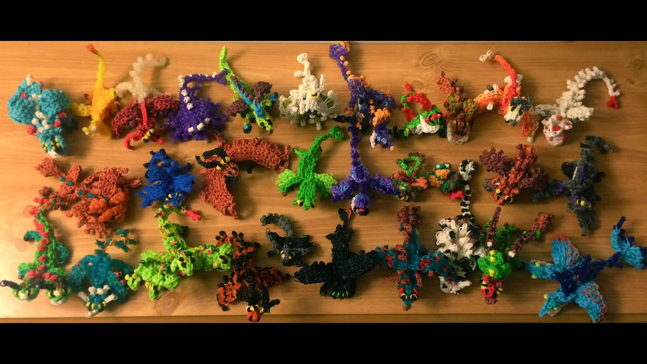 How to loom your dragon complete collection of baby dragons from how how to loom your dragon complete collection of baby dragons from how to train your dragon youtube ccuart Image collections