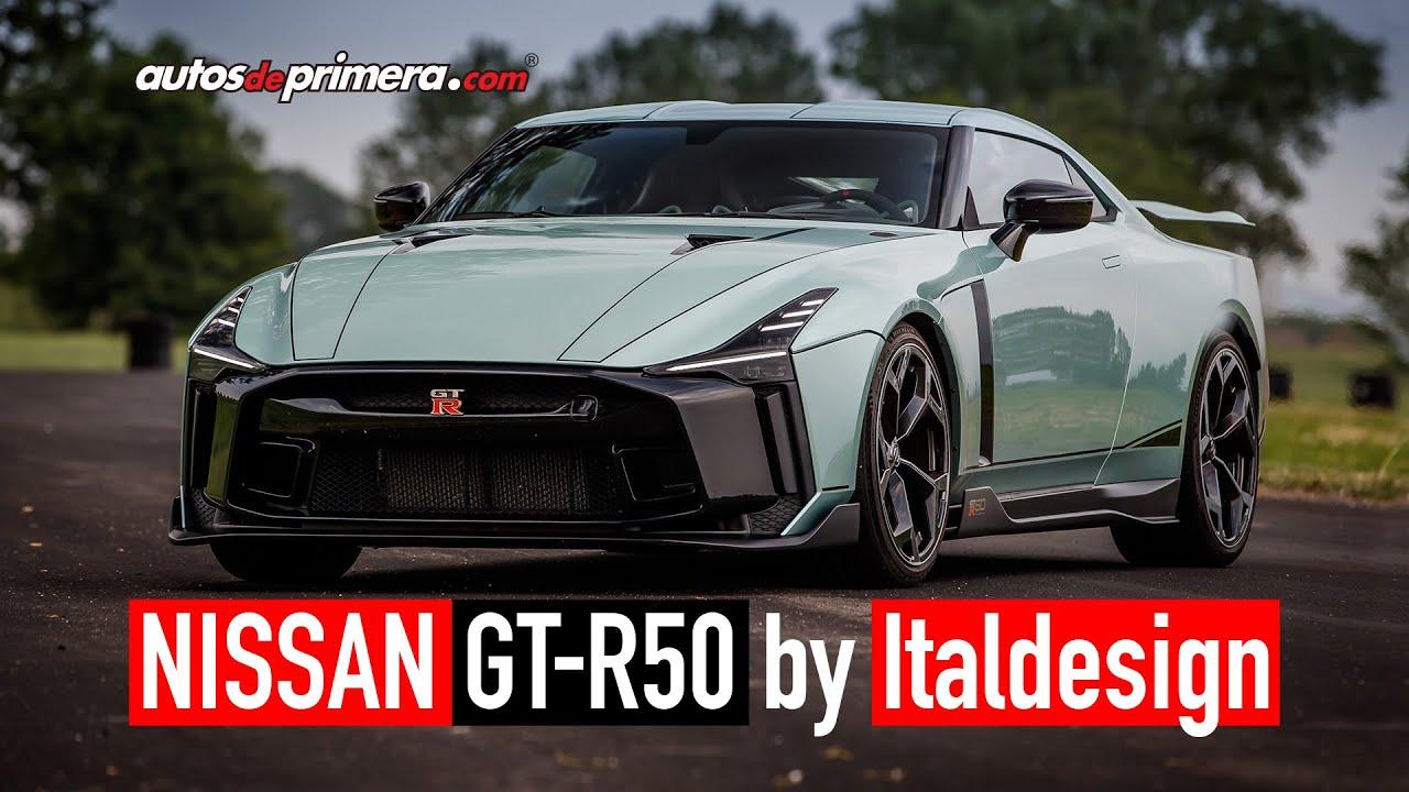 Nissan GT R50 By Italdesign 🔥 Solo 50 unidades EXCLUSIVAS 🔥