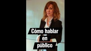 Trucos para hablar perfectamente en público | Andrea Vilallonga