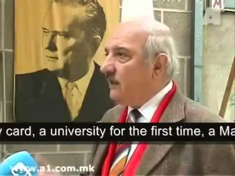 a FYROM Communist about the Titoist roots of Pseudo Macedonia