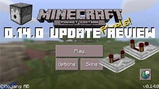 MCPE 0.14.0 OFFICIAL RELEASE! - Full Update Review - Minecraft Pocket Edition