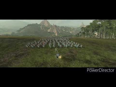 Playing Total War: Warhammer 2 as Lizardmen  